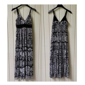 🖤Black & White🖤 Alyn Paige Maxi Dress Sz 5/6